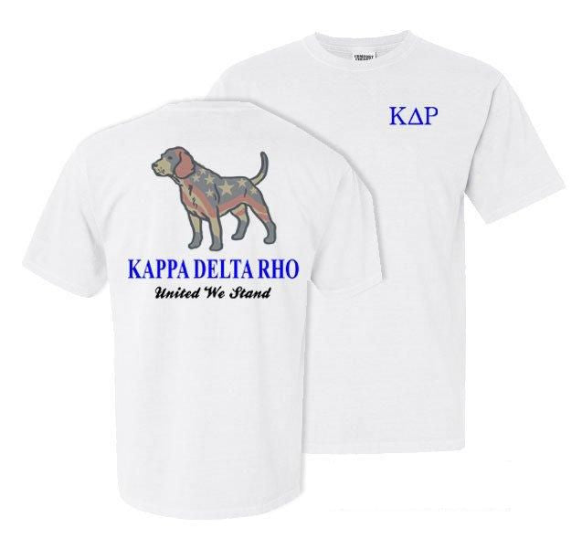 Kappa Delta Rho Stand Tall Comfort Colors Heavy Tee