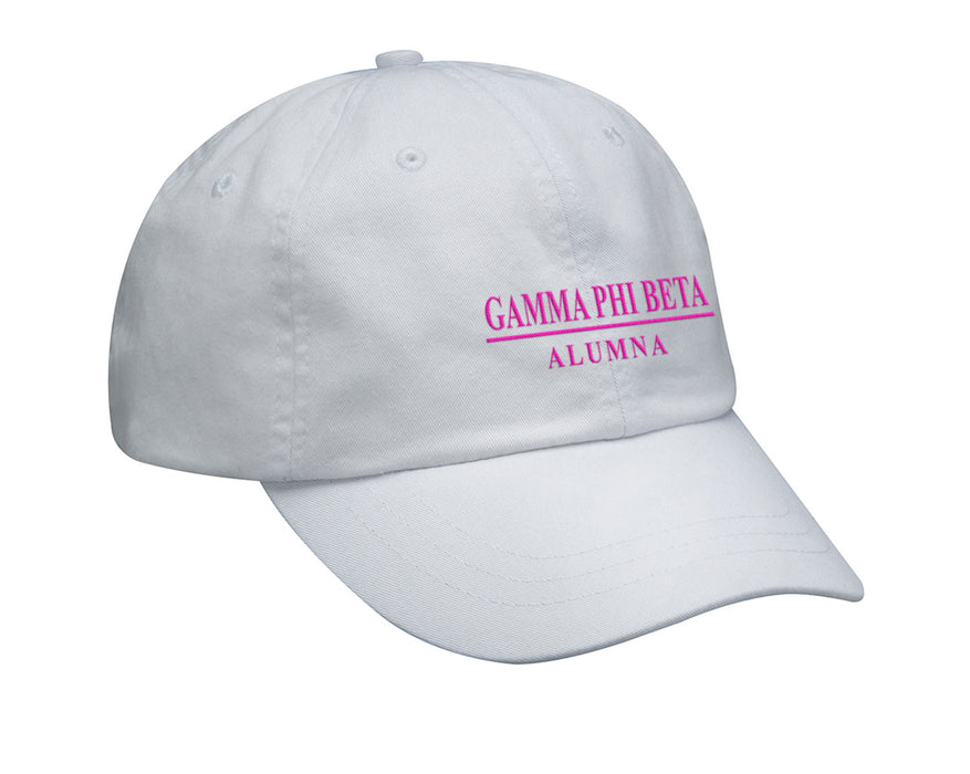Gamma Phi Beta Custom Embroidered Hat
