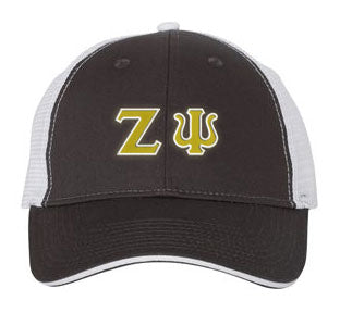Zeta Psi Greek Trucker Cap
