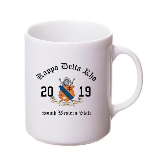 Kappa Delta Rho Collectors Coffee Mug