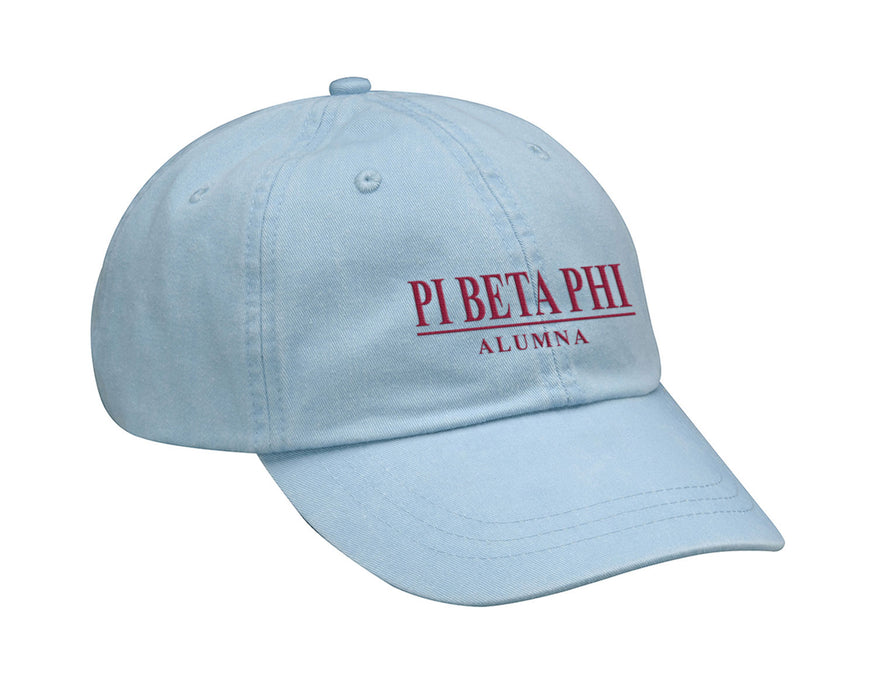 Pi Beta Phi Custom Embroidered Hat