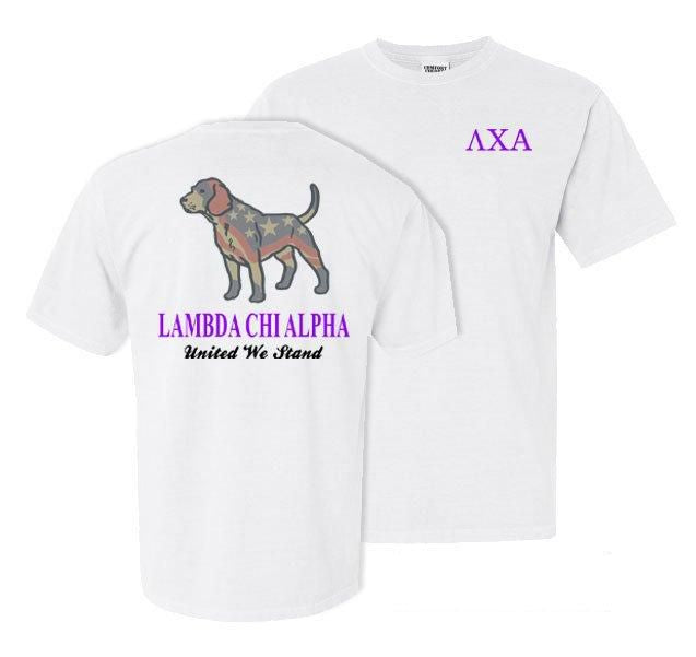 Lambda Chi Alpha Stand Tall Comfort Colors Heavy Tee