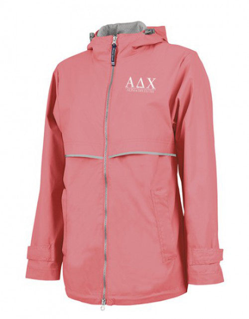 Alpha Delta Chi Embroidered Ladies Northwest Slicker