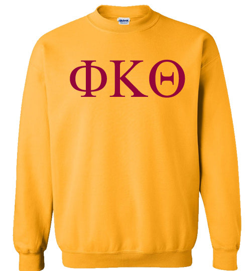Phi Kappa Theta World Famous Lettered Crewneck Sweatshirt