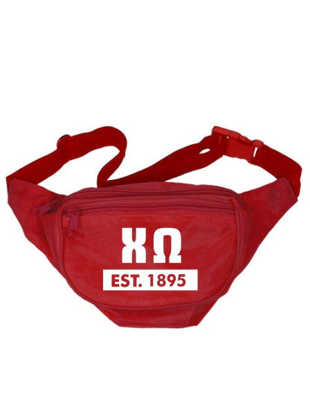 Chi Omega Laural Year Fanny Pack