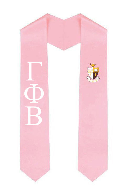 Gamma Phi Beta Simple Sash Stole