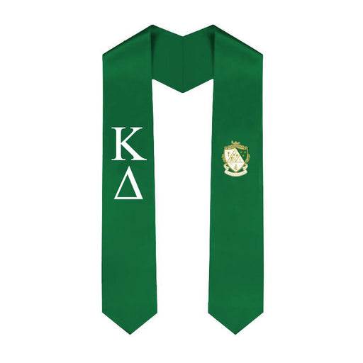 Kappa Delta Simple Sash Stole
