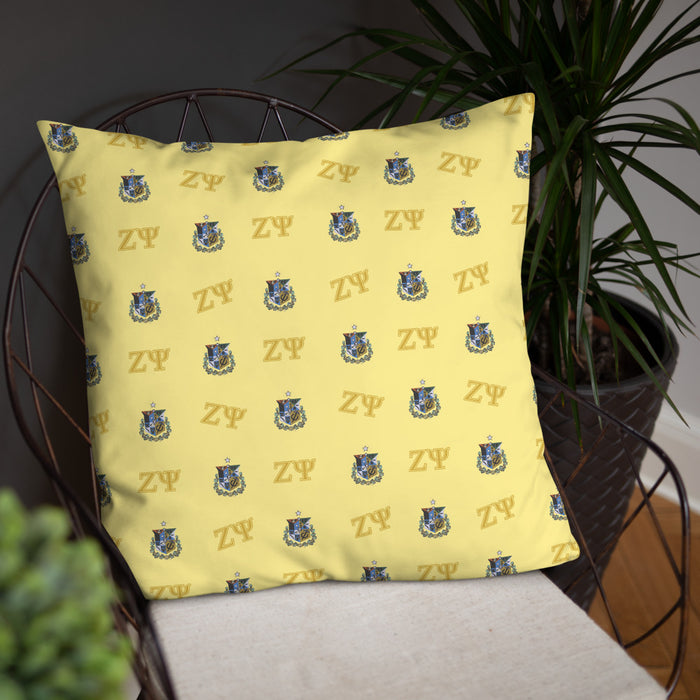 Zeta Psi Basic Pillow Zeta Psi Basic Pillow