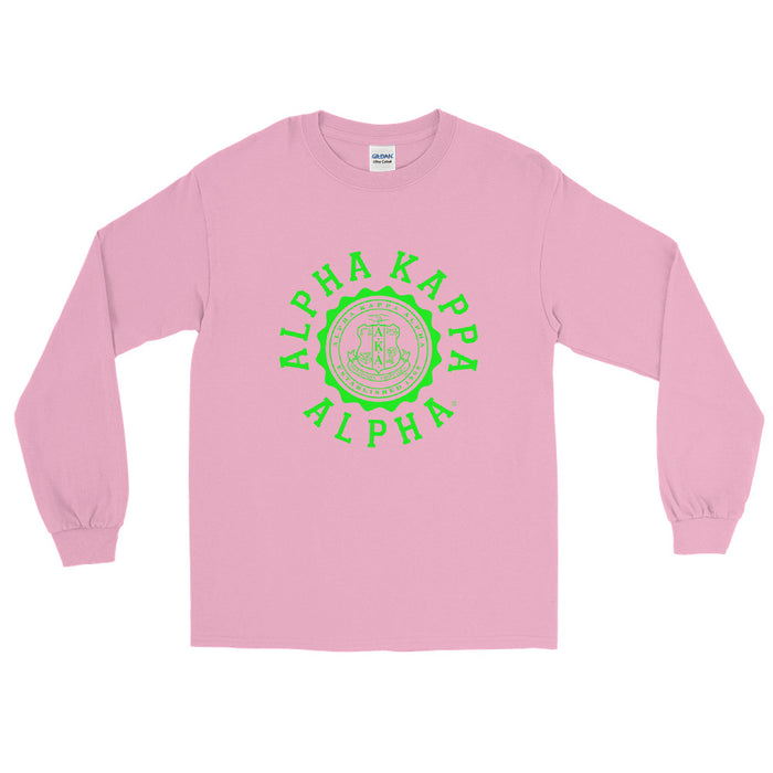 Alpha Kappa Alpha Crest Long Sleeve Shirt Alpha Kappa Alpha Crest Long Sleeve Shirt