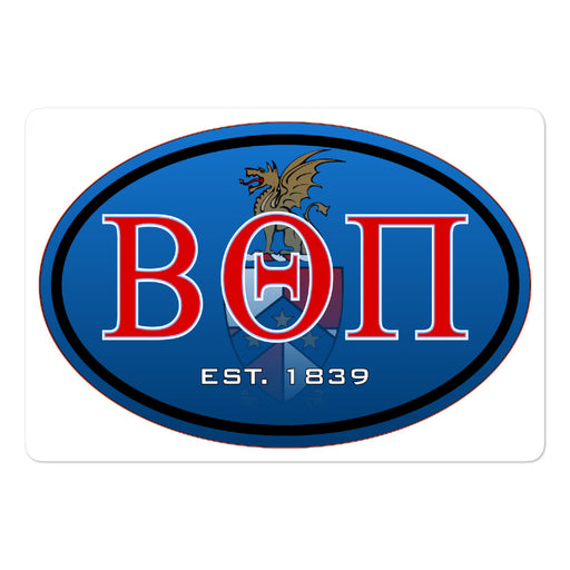 Beta Theta Pi Bubble-free stickers