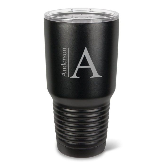 Personalized 30 Oz. Black Matte Double Wall Insulated Tumbler Personalized Tumbler For Groomsmen All Personalized 30 oz. Black Matte Double Wall Insulated Tumbler - Personalized Tumbler for Groomsmen - All
