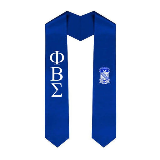 Phi Beta Sigma Simple Sash Stole