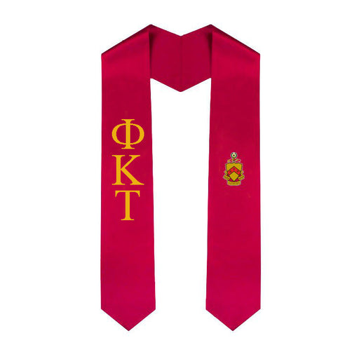 Phi Kappa Tau Simple Sash Stole