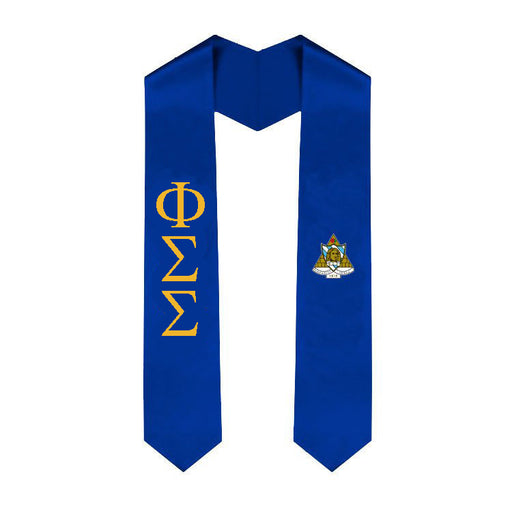 Phi Sigma Sigma Simple Sash Stole