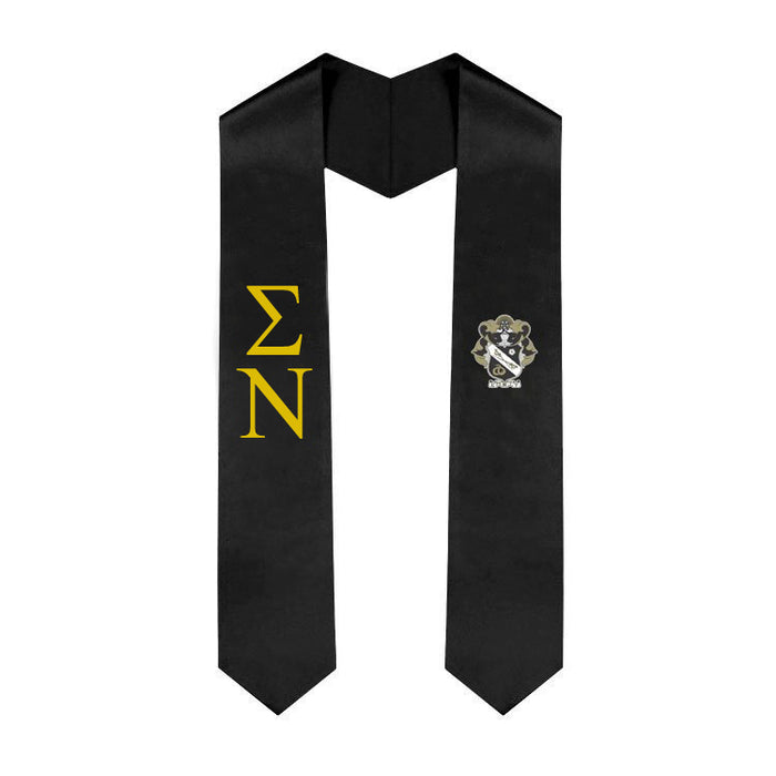 Sigma Nu Simple Sash Stole Sigma Nu Simple Sash Stole
