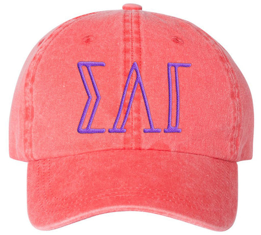 Best Selling Hats Sorority Greek Carson Embroidered Hat