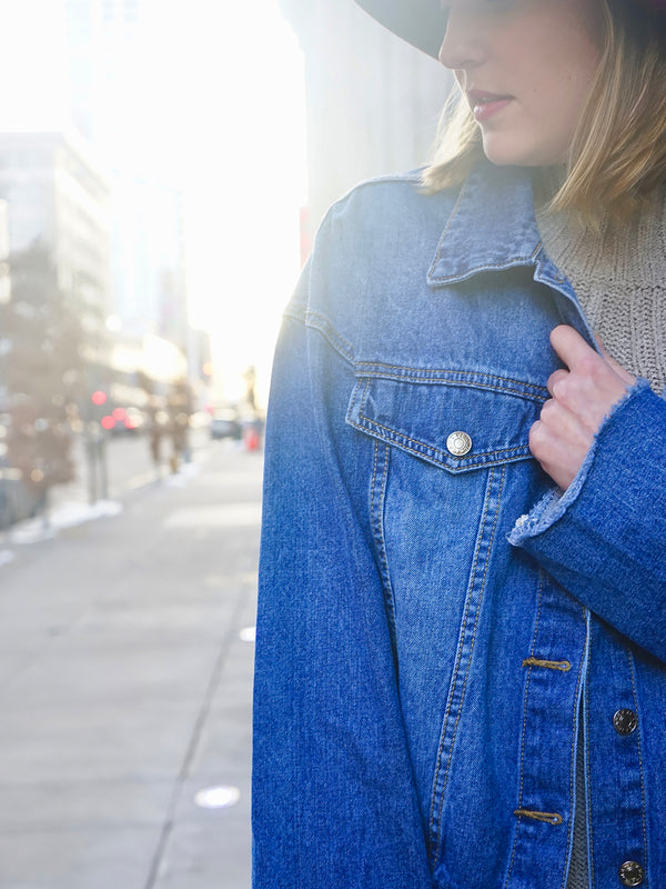Andy Oversized Denim Jacket