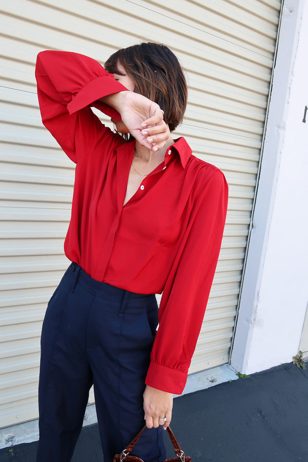Dahlia Long Sleeve Blouse