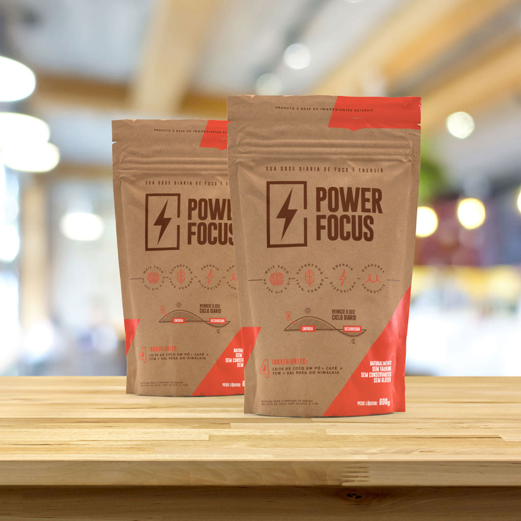 Power Focus - 2 Packs de 600 g