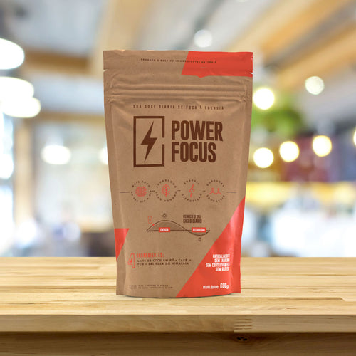 Power Focus - 1 Pack de 600 g