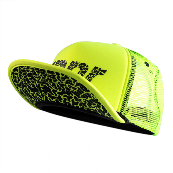 Lightweight Running Trucker Hat: Mt. Dew