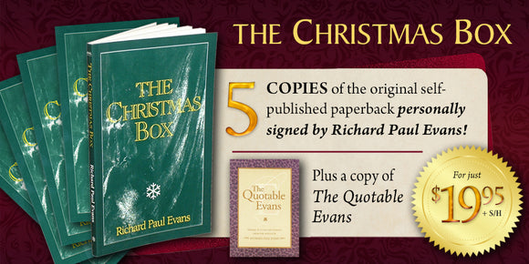 The Christmas Box 5 book sharing set
