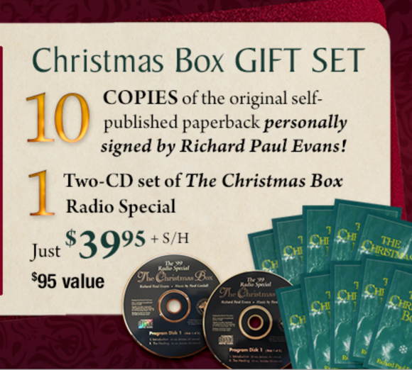 The Christmas Box 10-book GIFT SET