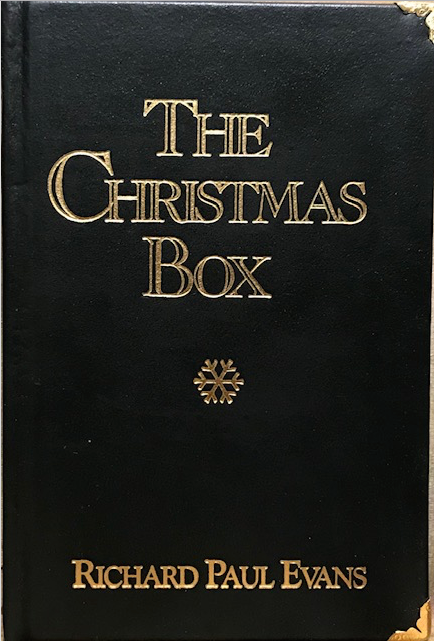 The Christmas Box Leather 24 kt gold signed edition