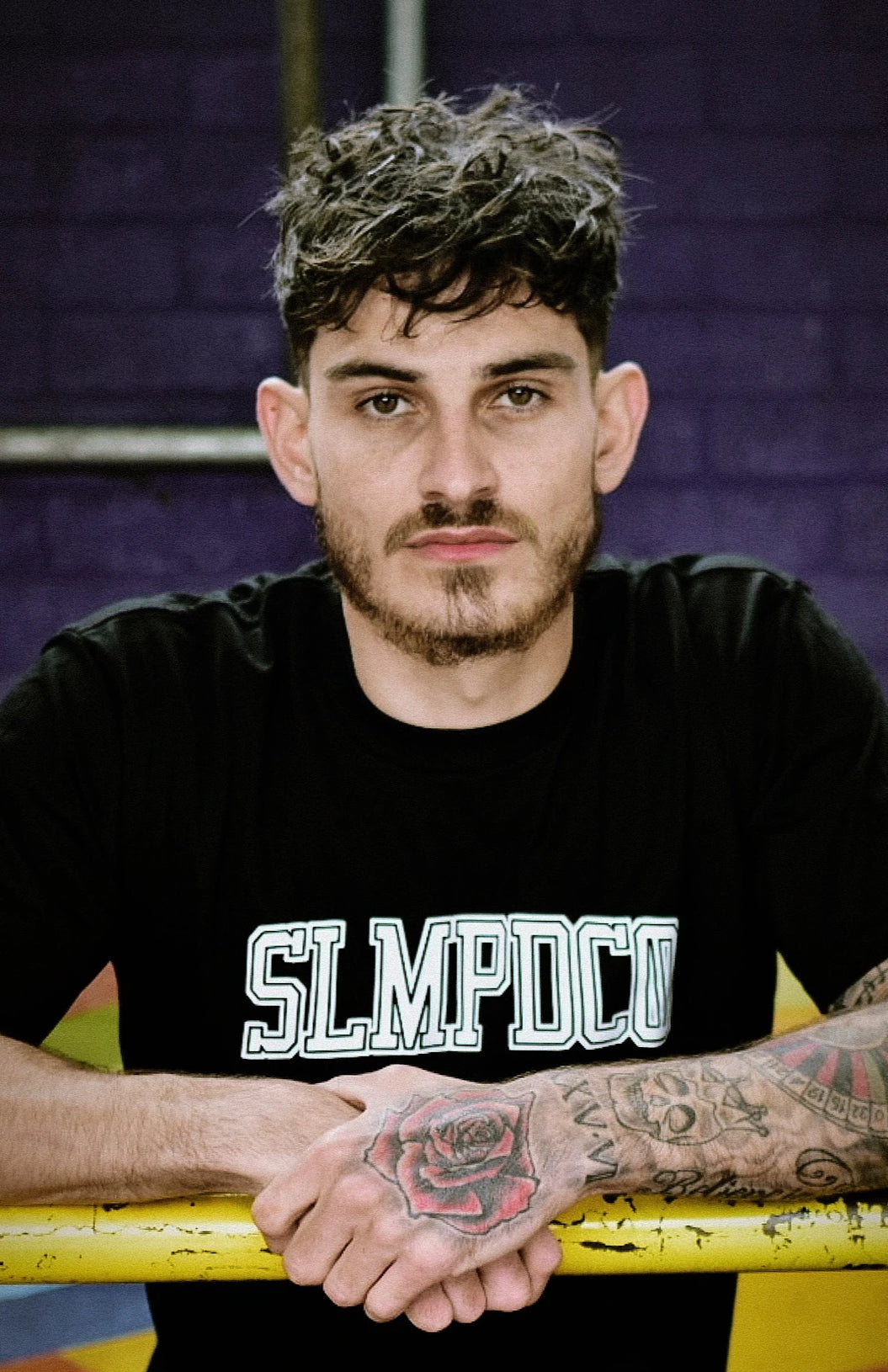 SLMPD DOMINO T SHIRT FROM STREETWEAR BRAND SLMPD CO STREET WEAR GARMENT CLOTHING APPAREL SLMPDCO BLACK TEE DIGBETH BIRMINGHAM STICKERS SLAPS CUSTOM CAPS SNAPBACK HEADWEAR CAP HAT TEE SWEATSHIRT PATCH TRACKSUIT BRIXTON SWEATPANTS PANTS JOGGERS