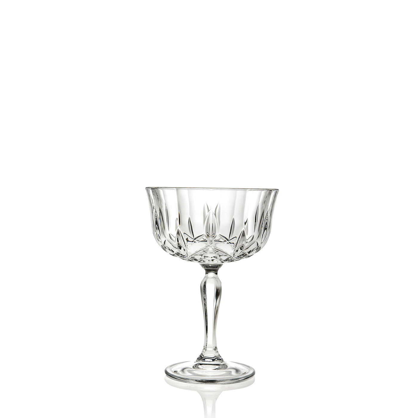 Opera Maison Italian Crystal Champagne Cocktail Saucers 24cl Fg Kitchen
