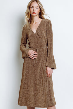 MONTE Jodie Wrap Dress -