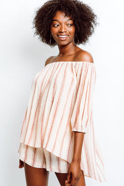 MONTE Kasey Off Shoulder Top -