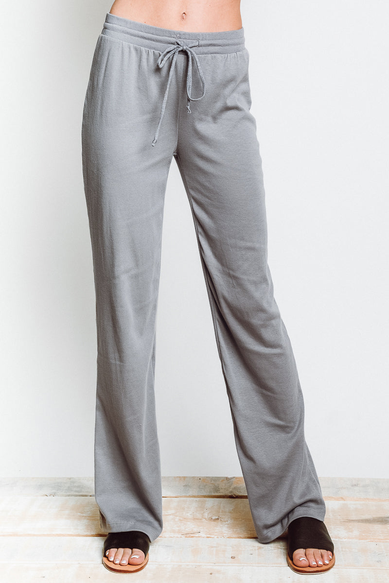 MONTE Kick It Pant - Grey