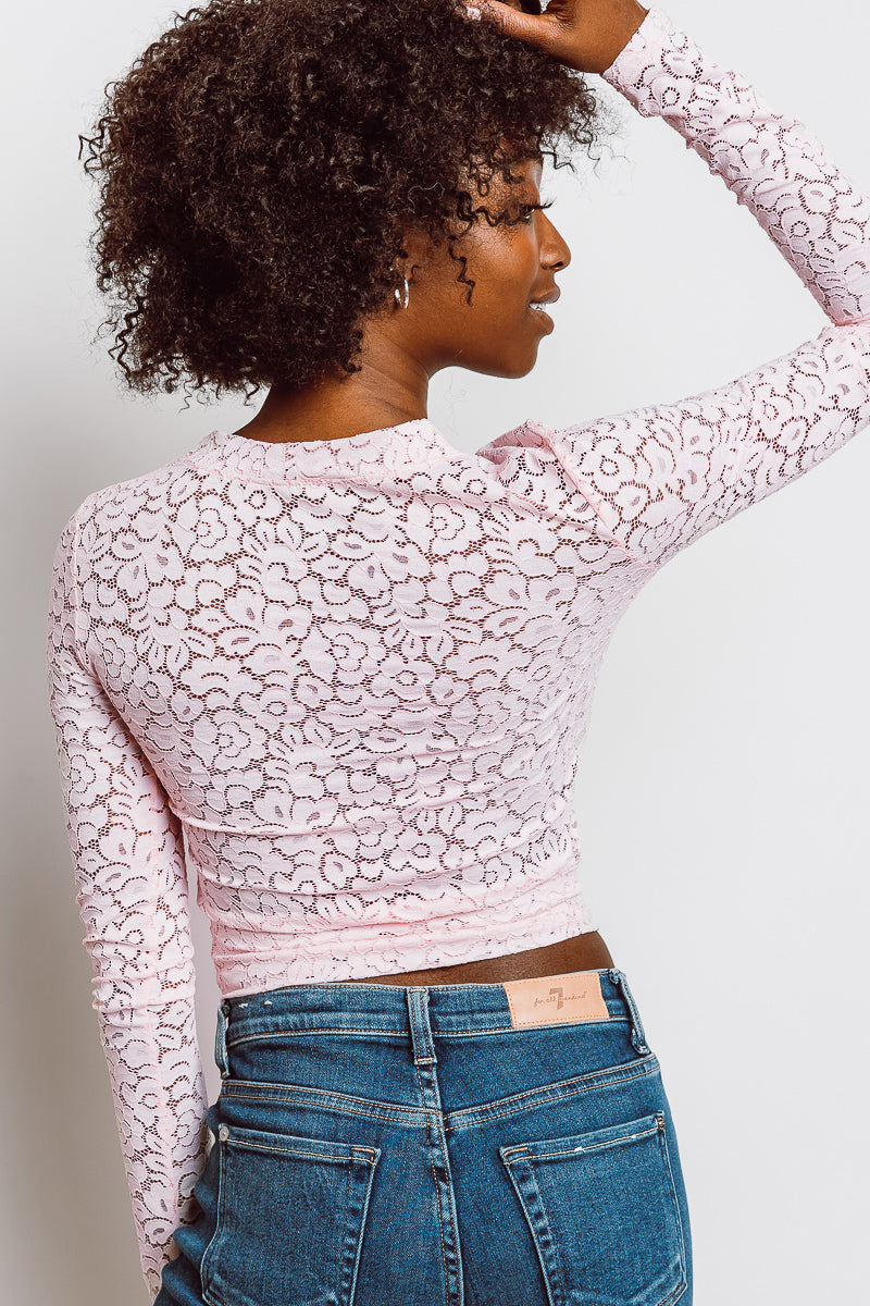 MONTE Lace Grace Top -