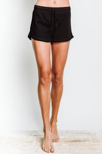 Lounger Short in Black