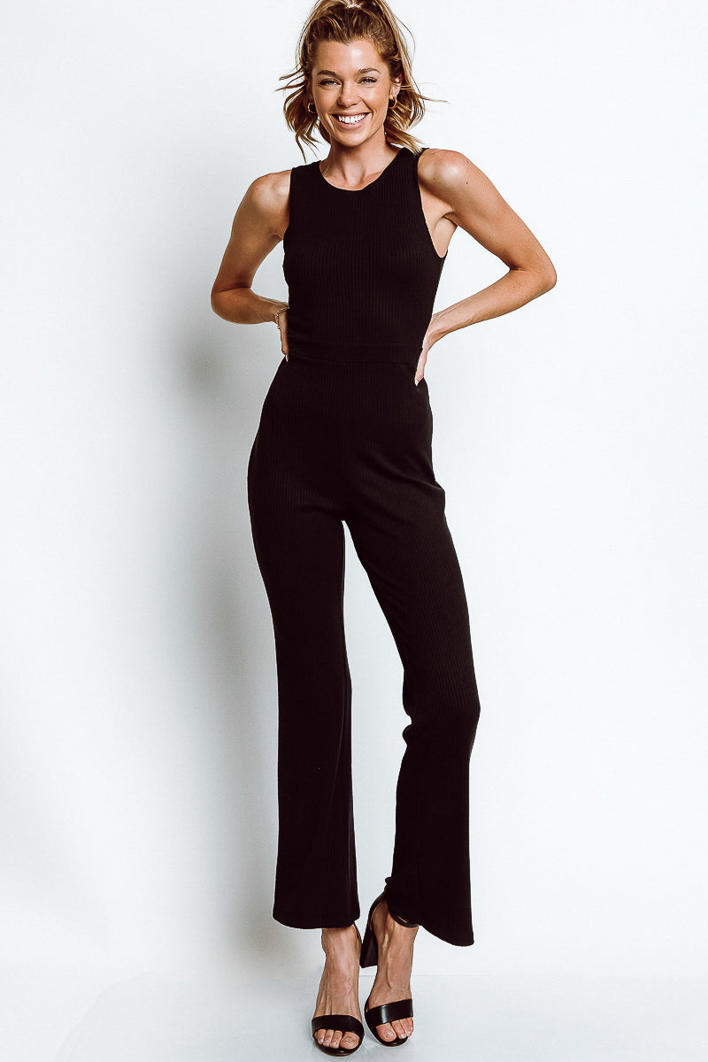 MONTE Megan Jumpsuit - Licorice