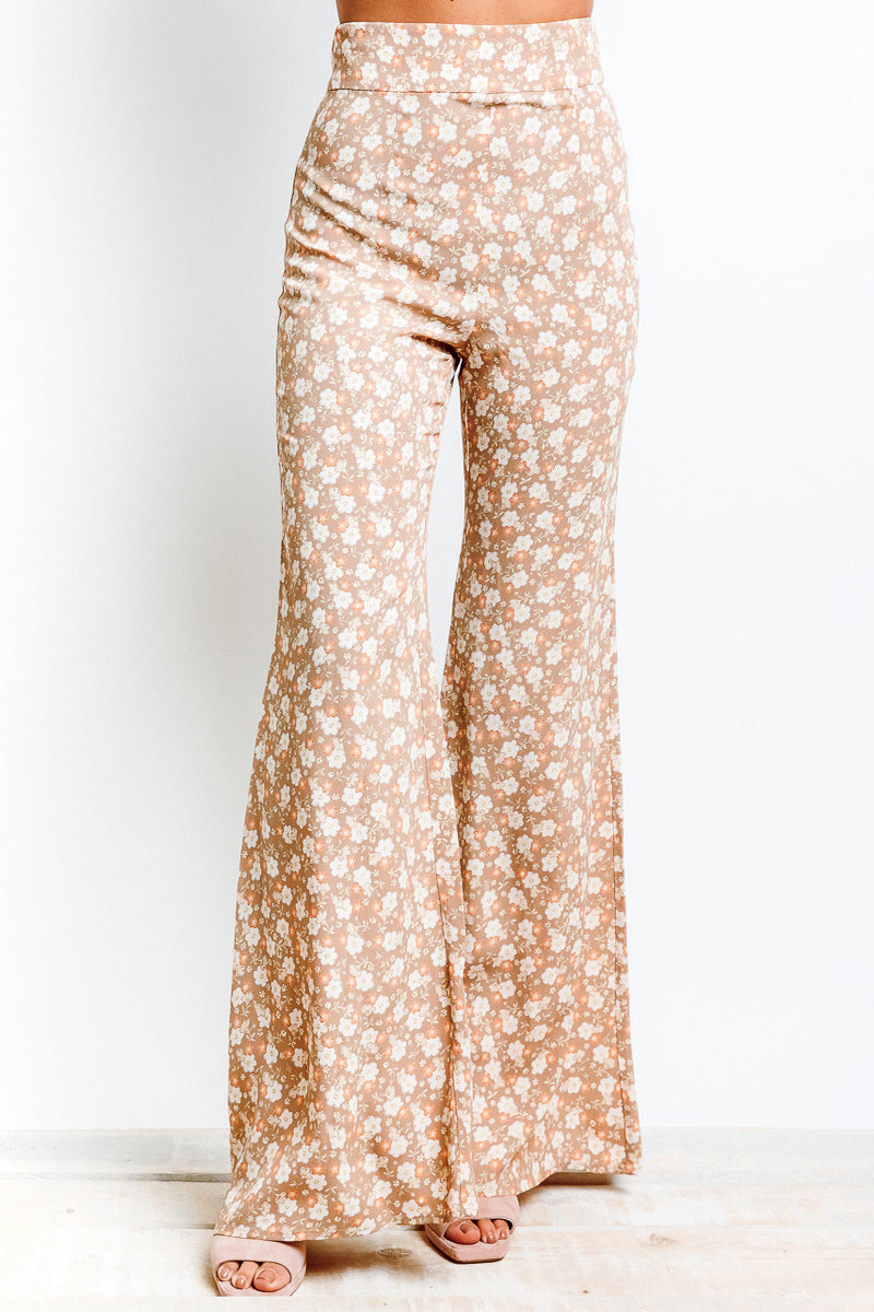 MONTE Thelina Pant - Cherry Blossom Taupe