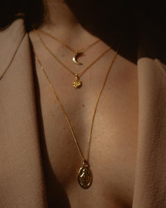 Saint of the Seas Necklace Gold