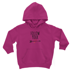 Follow Your Heart II Kids Hoodie - Sacred Lotus Gifts