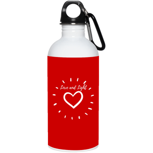 23663 20 oz. Stainless Steel Water Bottle - Sacred Lotus Gifts