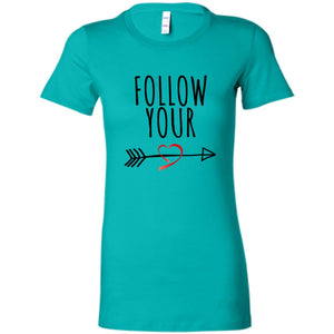 Follow Your Heart II Premium Cotton T-Shirt - Sacred Lotus Gifts