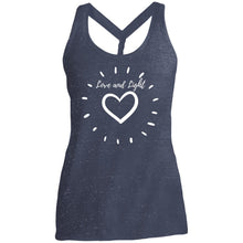 """Love and Light"" Soft Layering Tank Top - Sacred Lotus Gifts"