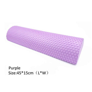 Half Round EVA Massage Foam Roller and Yoga prop - Sacred Lotus Gifts