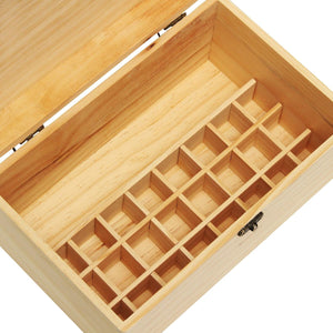 Essential Oil Storage Box Holds 32 bottles - Sacred Lotus Gifts