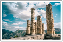 Temple of Apollo, Delphi - Sacred Lotus Gifts