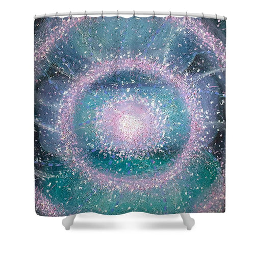 Healer Of The Heart - Shower Curtain - Sacred Lotus Gifts