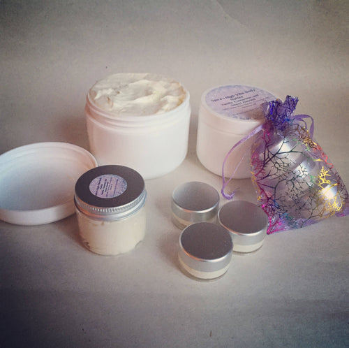 Calming Love High Vibe whipped body butter  Raise your vibration. - Sacred Lotus Gifts