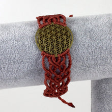 Flower of Life Hand-made macrame bracelet - Sacred Lotus Gifts