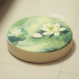 Lotus Meditation Floor Cushion - Sacred Lotus Gifts