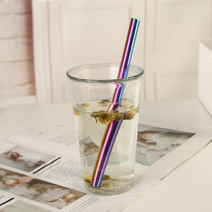 Reusable Stainless Steel Drinking Straws (pack of 4) - Sacred Lotus Gifts
